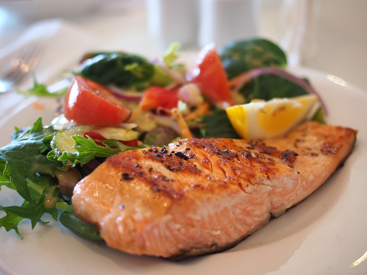 fall asleep faster foods salmon