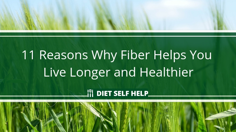 11 Reasons Why Fiber is Helps You Live Longer and Healthier